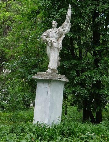 г. Бежецк. Памятник советским воинам.