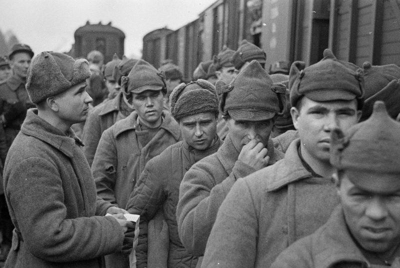 Обмен военнопленными после окончания Зимней войны. 20 апреля 1940 г.