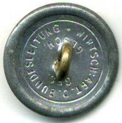 Пуговица ветеранской организации «Стальной шлем» диаметром 21 мм.