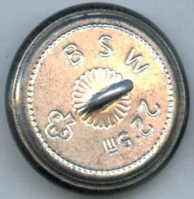 Пуговицы служащих TeNo диаметром 22- 23 мм.
