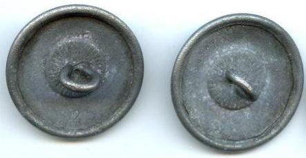 Пуговицы государственных служащих Третьего рейха, диаметр 20-24 мм.