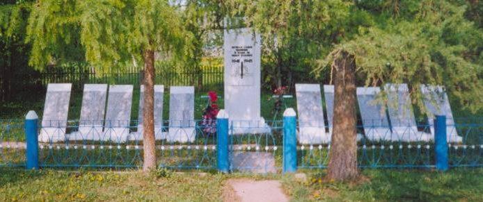 с. Верховье Бельского р-на. Братская могила, в которой похоронено 368 советских воинов, погибших в годы войны.