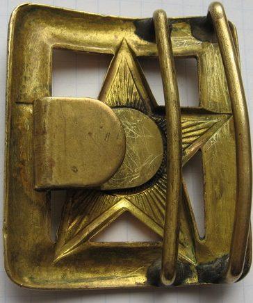 Пряжка для генеральского ремня образца 1940 года.
