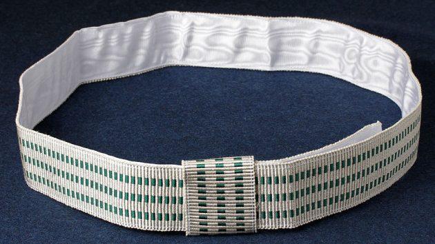 Пояс-шарф для парадной формы генерала пограничных войск НКВД образца 1945 г.