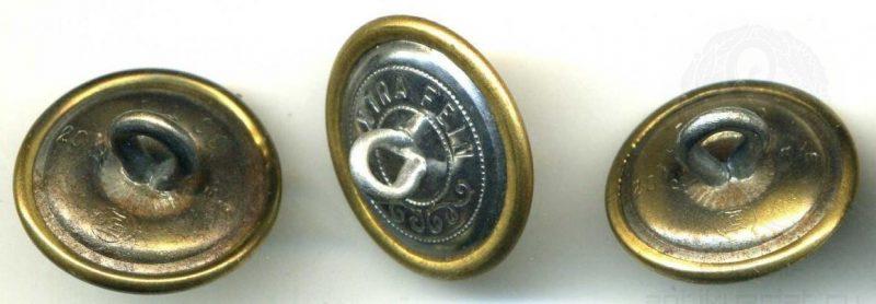 Пуговицы для генеральского мундира. Две диаметром 20.5 мм одна - 21.5 мм.