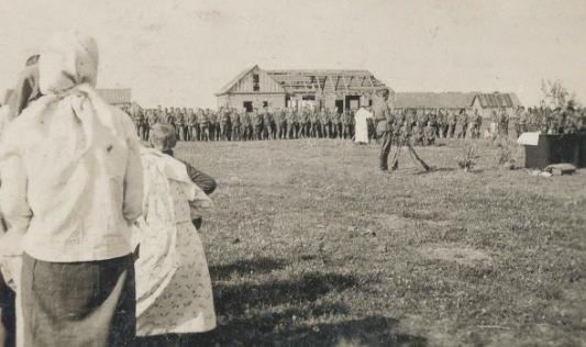Немецкие войска в Дубно. Июнь 1941 г.