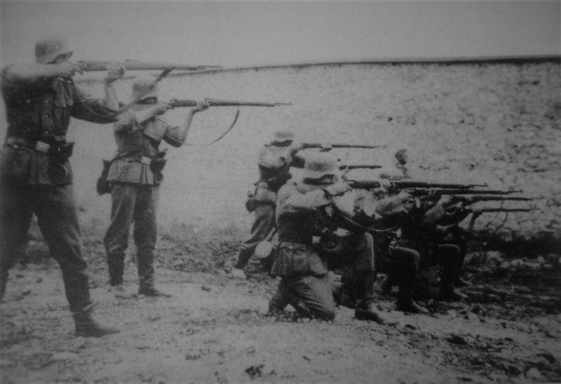 Расстрел советских граждан. Июнь 1941 г.