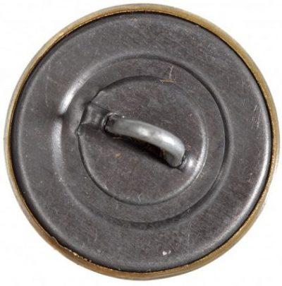 Пуговица РКМ (милиция) образца 1936 года диаметром 14 мм и 22 мм.