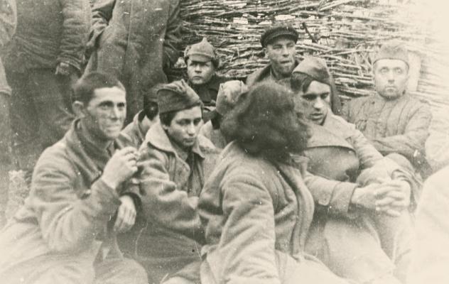 Советские военнопленные. Сентябрь 1941 г.
