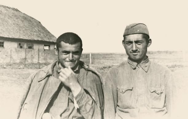 Лагерь военнопленных в Дубно. Сентябрь 1941 г.
