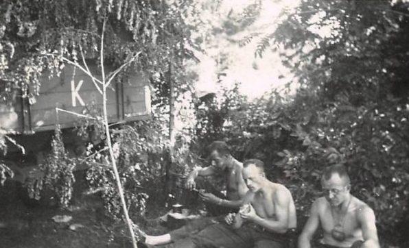 Немцы в городе. 1942 г.