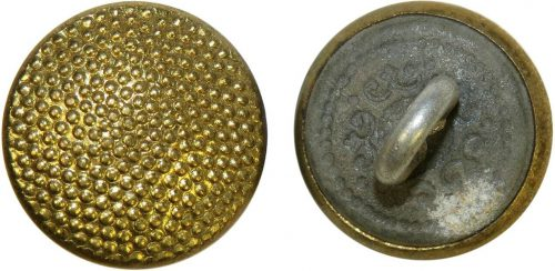 Пуговица для генеральской униформы диаметром 12 мм.