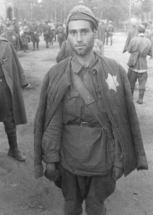 Пленные евреи. Август 1941 г.