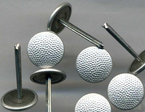 Пуговицы-кламмеры для фуражек офицеров диаметром 12 мм.