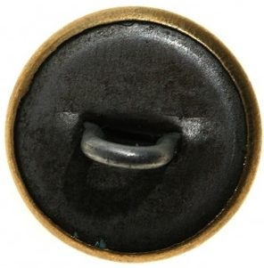 Пуговица латунная образца 1940 года диаметром 14 мм, 18 мм и 22 мм комсостава РКМ/ГУЛАГ.