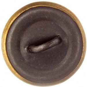 Пуговица гимнастерочная сотрудников ГУЛАГа образца 1943 года диаметром 14 мм, 18 мм и 22 мм из латуни.