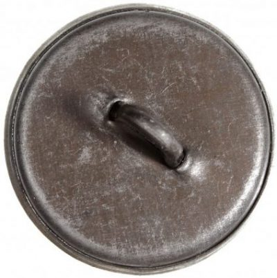 Пуговица из стали диаметром 14 мм, 18 мм и 22 мм на китель/шинель/тужурку сотрудников НКПС образца 1943 года, веденных приказом НКПС СССР №711 Ц от 13.09.1943 г.