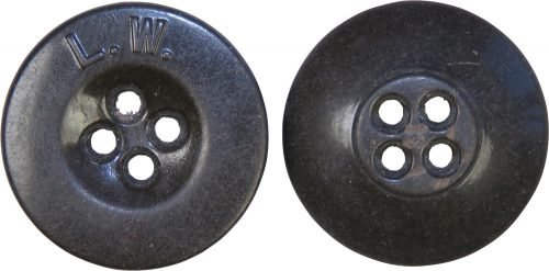 Пуговица диаметром 18-мм для униформы Люфтваффе и снаряжения.