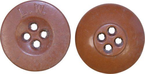 Пуговица диаметром 18 мм для униформы Люфтваффе.