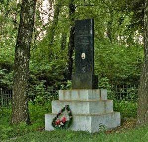 Могила члена Военного совета Юго-Западного фронта дивизионного комиссара Рыкова Е.П.
