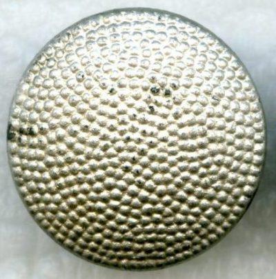 Погонная пуговица Вермахта из стекла диаметром 18 мм.
