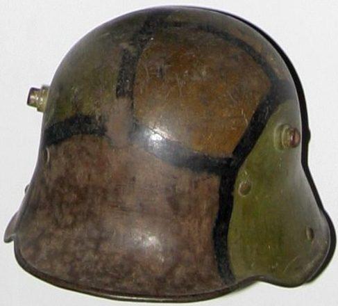 Каска М1916 маскировочной расцветки, «черепаховая».