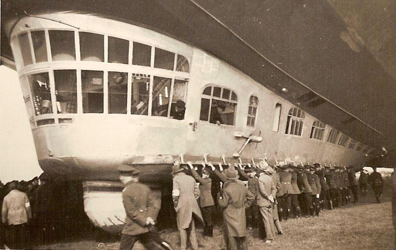 Дирижабль LZ 127 «Граф Цеппелин».