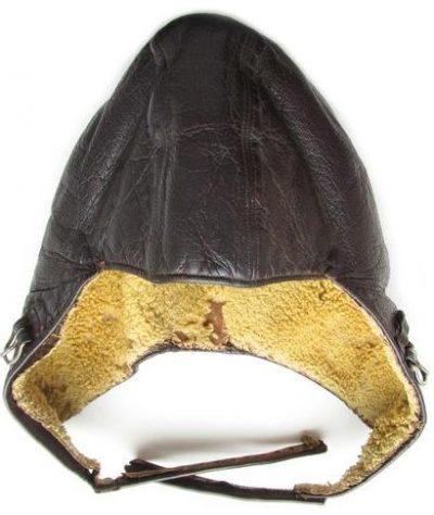 Зимний шлем FK33 из кожи без радиооборудования.