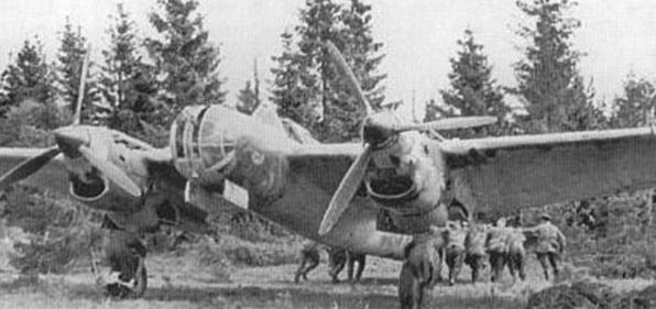 Бомбардировщик СБ. 1940 г.