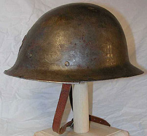 Стальная пехотная каска М21/16 (Тип А).