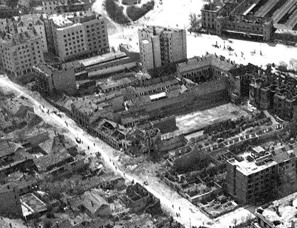 Белград после бомбардировок.