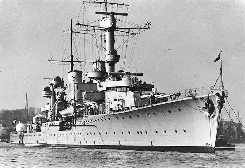 Крейсер Кенигсберг. 1936 г.