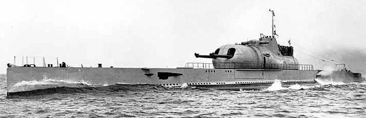 Подводная лодка «Surcouf».