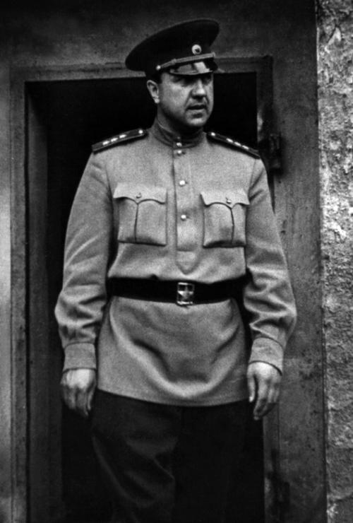Начальник ГУКР СМЕРШ в годы войны В. Абакумов.