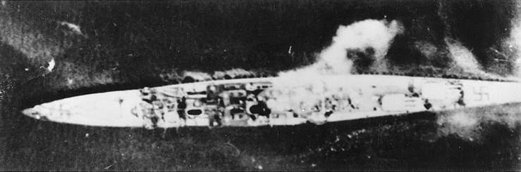 Кенигсберг под атакой в Бергене.