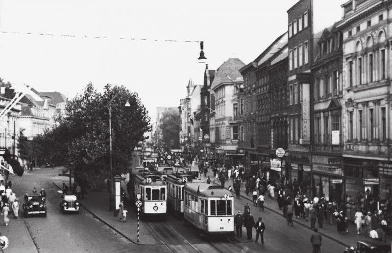 Улицы Дуйсбурга до войны.