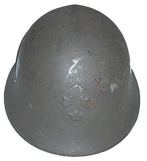 Стальная пехотная каска М21/18 (Тип В).