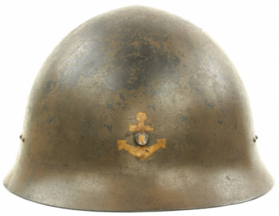 Каска с эмблемой ВМФ.
