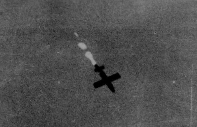 «Фау-1» в полете.
