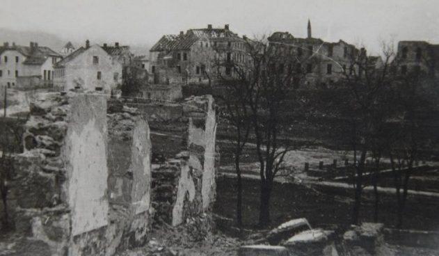 Руины Тарнополя.