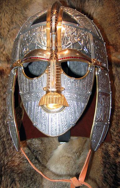 Реплика англо-саксонского шлема вендельского типа из захоронения Саттон-Ху в Англии, VII в.