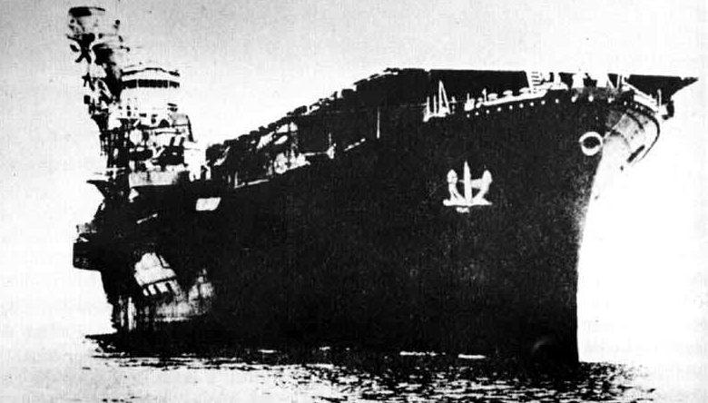 Японский средний авианосец Hiyo.