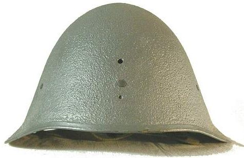Каска М23/41, используемая полицией.