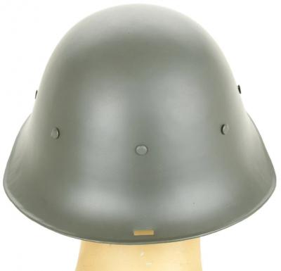Стальной пехотный шлем М34.