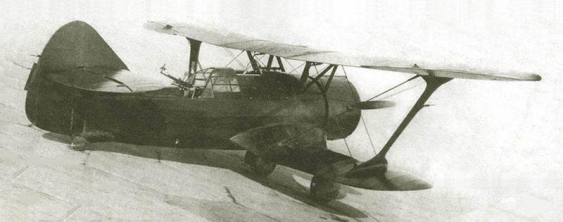 Двухместный истребитель ДИ-6. 1939 г.