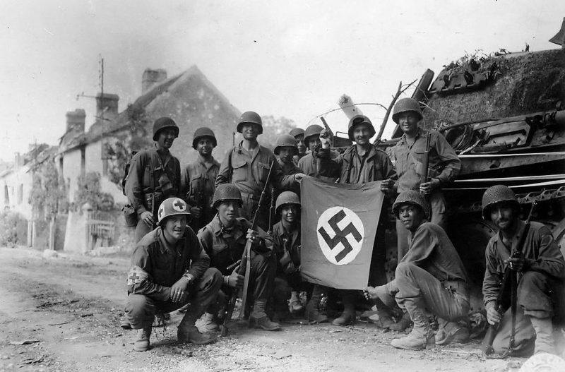 Американские солдаты в Шамбо.