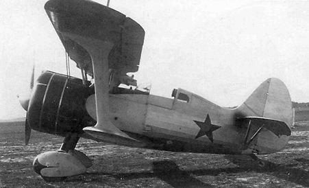 Истребитель И-15бис (И-152). 1939 г.