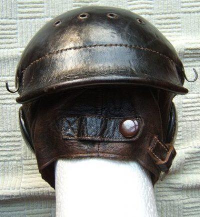 Кожаный летный шлемофон WZ.38.