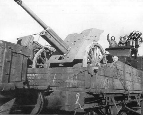 37-мм противотанковая пушка образца 1930 года (1-К). 1940 г.