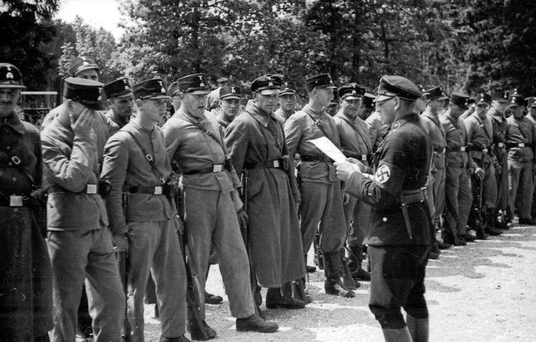 Охранники Дахау. Май 1933 г.